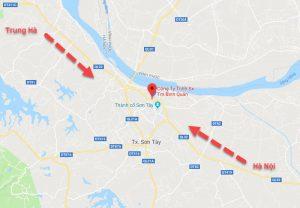 Bản đồ đường đi đến công ty bình quân