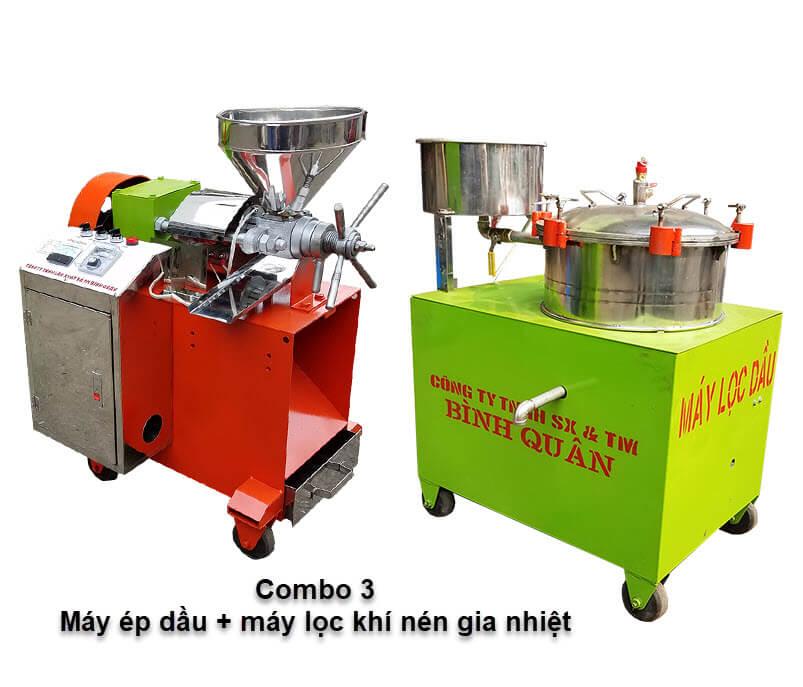 máy ép dầu đậu nành