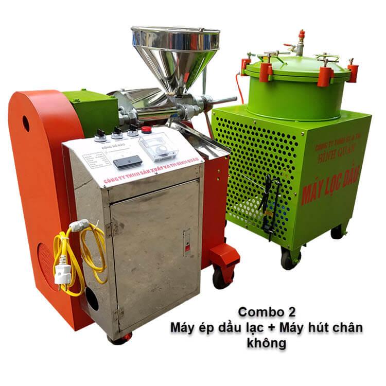 bộ máy ép dầu vừng