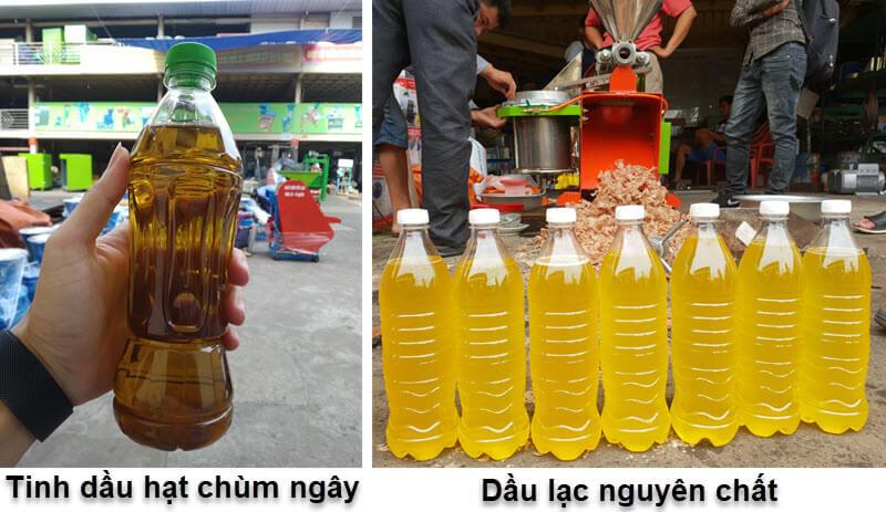dầu lạc, dầu trùm ngây