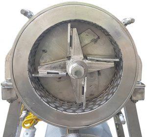 buồng máy xay bột nước