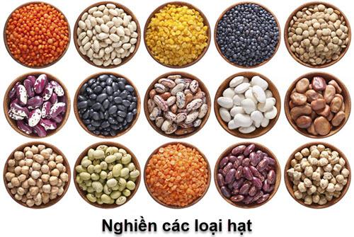 các loại hạt ngũ cốc