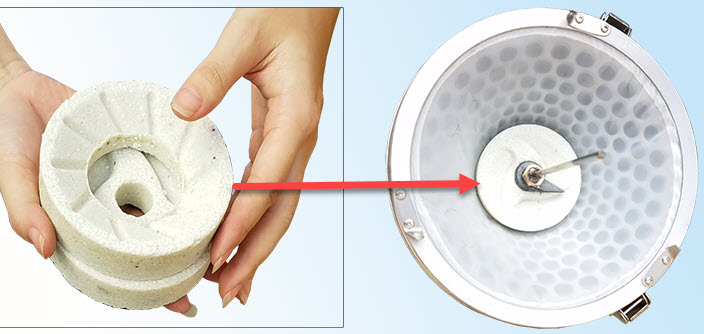 đĩa đá máy làm sữa đậu nành