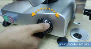 Điều chỉnh độ dày mỏng
