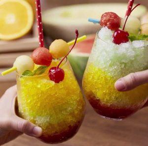 kem đá bào trái cây