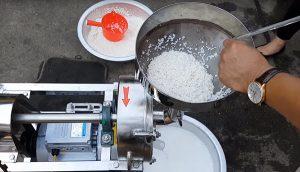 máy nghiền bột nước