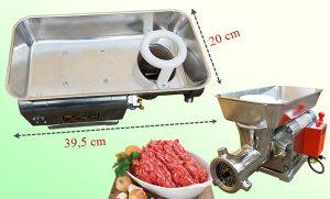 máng máy xay thịt