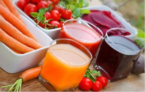 các loại nước ép hoa quả