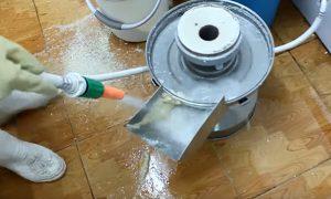 vệ sinh máy xay đậu nành
