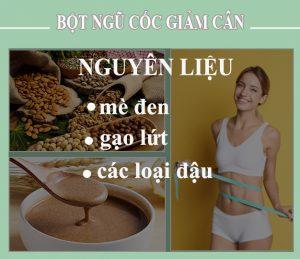 bột ngũ cốc giảm cân