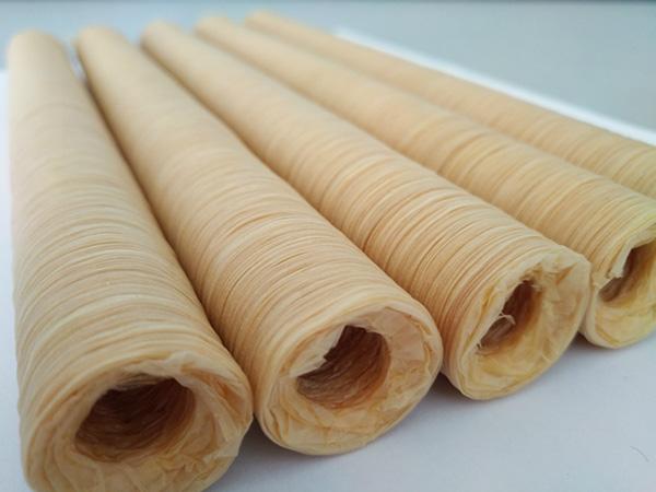 làm xúc xích bằng vỏ collagen