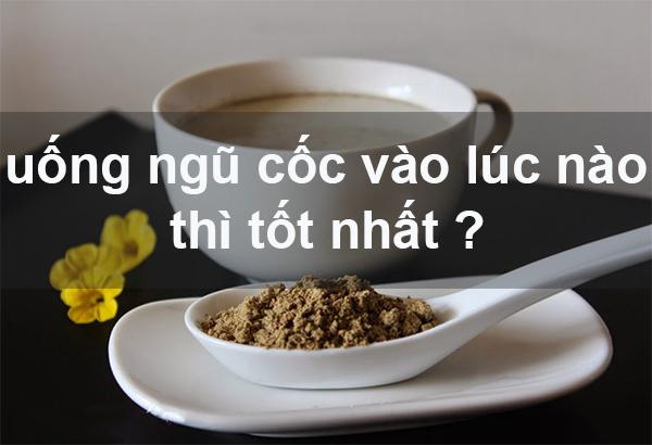thoi diem an ngu coc