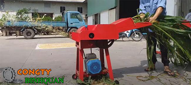 máy băm cỏ 5TA